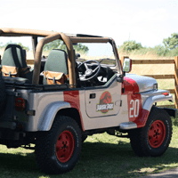 The Jurassic Park Jeep will be at Yorkshire Cosplay Con 2018
