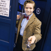 Mini Matt Smith Comes to Yorkshire Cosplay Con