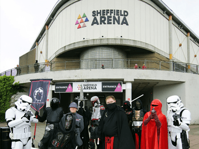 Feel the Force with all the Star Wars Character at Sheffield Arena for Yorkshire Cosplay Con 2017