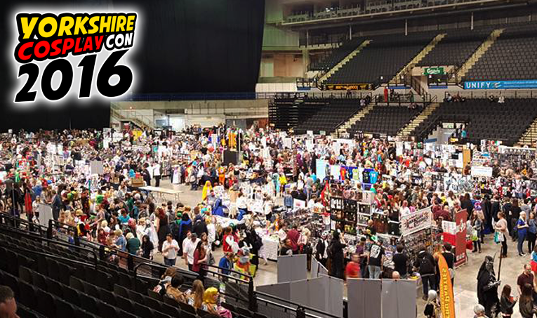 Thousands of Anime, Cosplay, Comic Book, Sci-Fi and Video gaming Fans were at Sheffield Arena for Yorkshire Cosplay Con 2016 #ycc2016