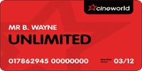 Cineworld Unlimited Card